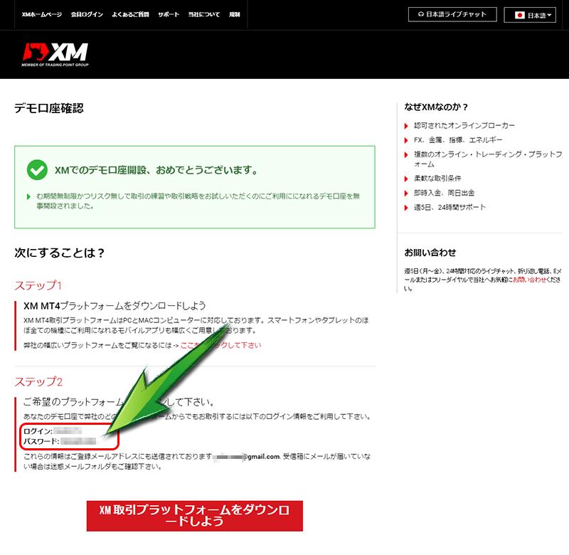 XM mt4使い方