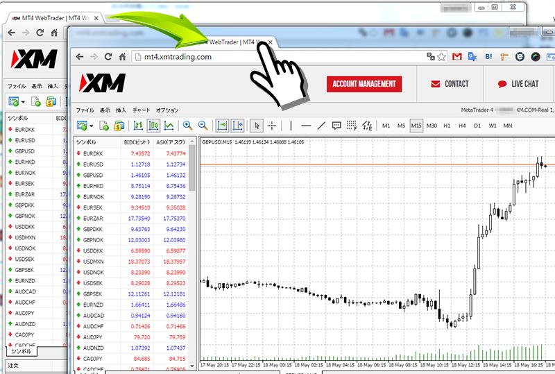 XM MT4Web