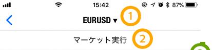 MT4アプリの通貨ペア