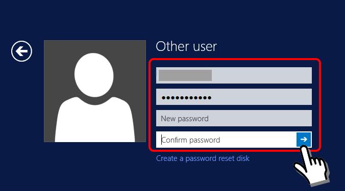 BeeksFX vpsパスワード変更画面